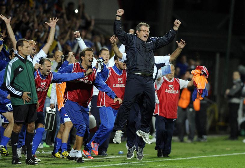 Piłkarze Bośni i Hercegowiny stoją przed ogromną szansą /AFP