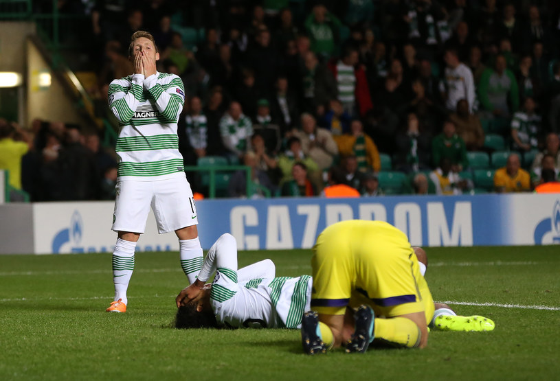 Piłkarze Celticu przeżyli wielkie rozczarowanie /Ian MacNicol /Getty Images