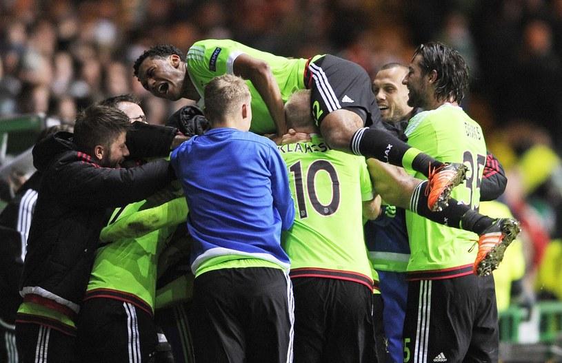 Piłkarze Celticu znów mogli cieszyć się z mistrzostwa /AFP