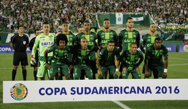 Piłkarze Chapecoense /PAP/EPA/MARCIO CUNHA /PAP/EPA