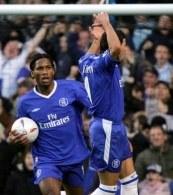 Piłkarze Chelsea do końca sezonu 2005/06 będą grać w strojach angielskiej firmy Umbro /AFP