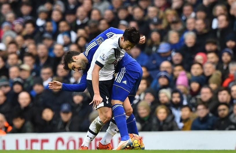Piłkarze Chelsea i Tottenhamu narazili kluby na kary /AFP