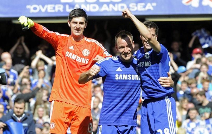 Piłkarze Chelsea Londyn po raz piąty w historii zdobyli tytuł mistrzów Anglii /PAP/EPA