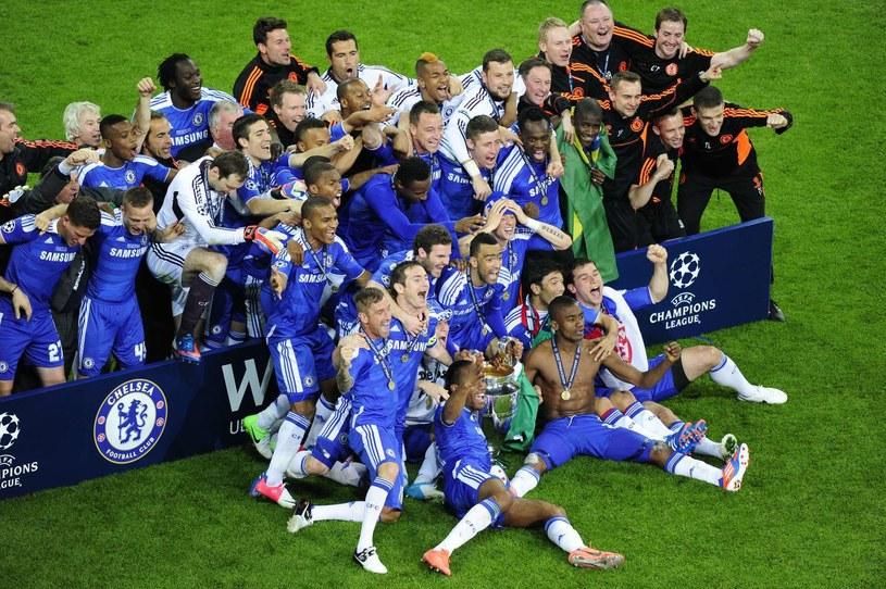 Piłkarze Chelsea Londyn, triumfatora ostatniej edycji Ligi Mistrzów /. /AFP