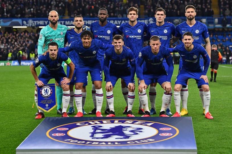 Piłkarze Chelsea Londyn /AFP