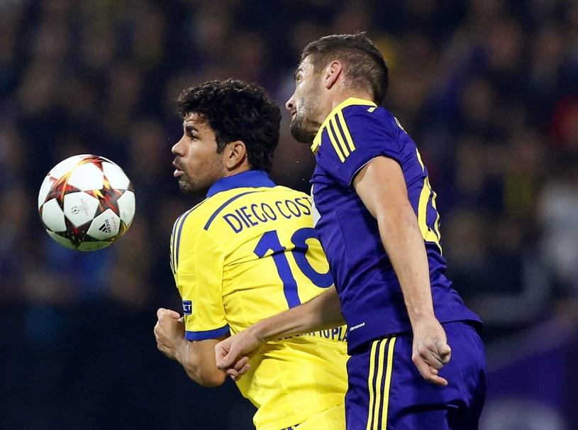 Piłkarze Chelsea nie popisali się w meczu z Mariborem /AFP