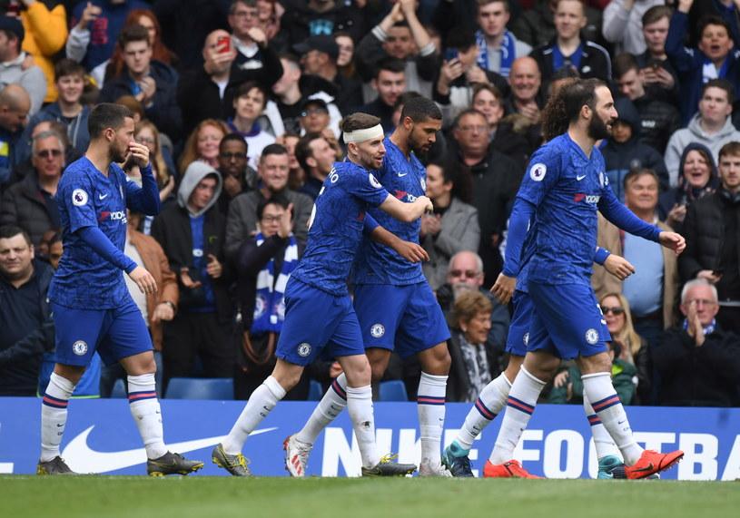 Piłkarze Chelsea odnieśli ważne zwycięstwo /AFP