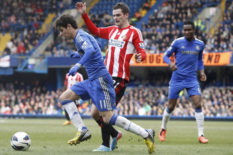 Piłkarze Chelsea wygrali z Sunderlandem /PAP/EPA