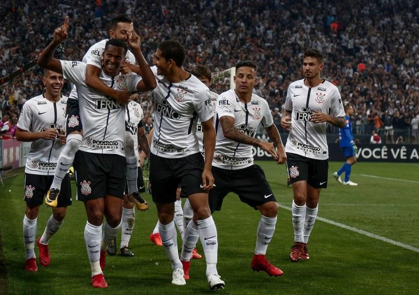 Piłkarze Corinthians Sao Paulo /AFP