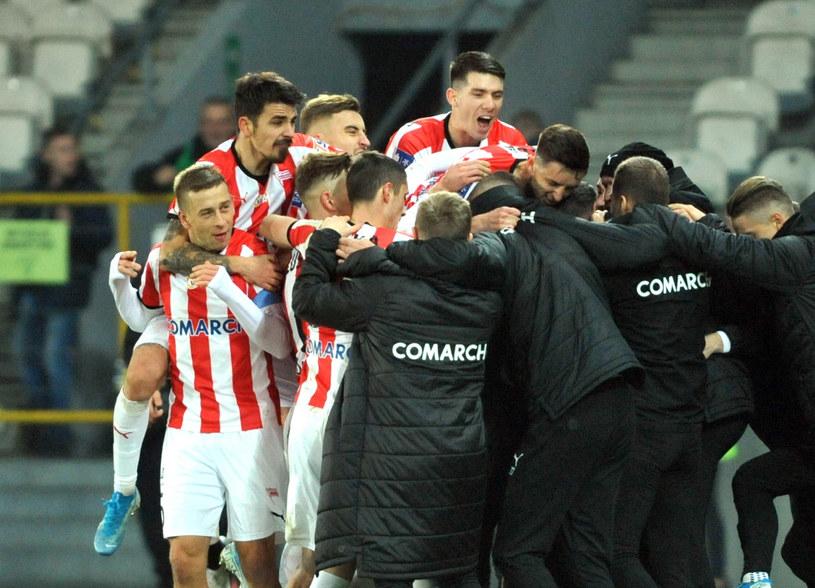 Piłkarze Cracovii /Michał Klag /East News
