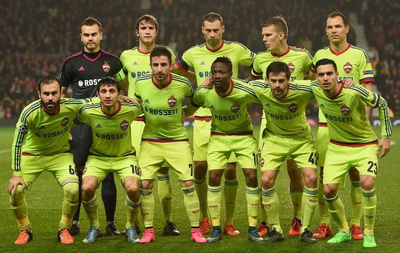 Piłkarze CSKA Moskwa mają realne szanse na mistrzowski tytuł /AFP