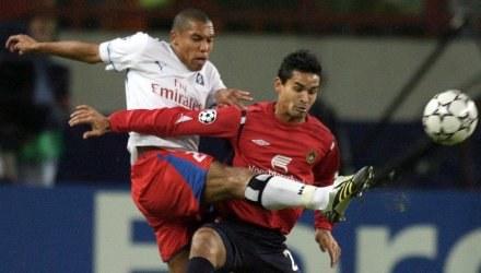 Piłkarze CSKA Moskwa wygrali z Hamburger SV 1:0 /AFP