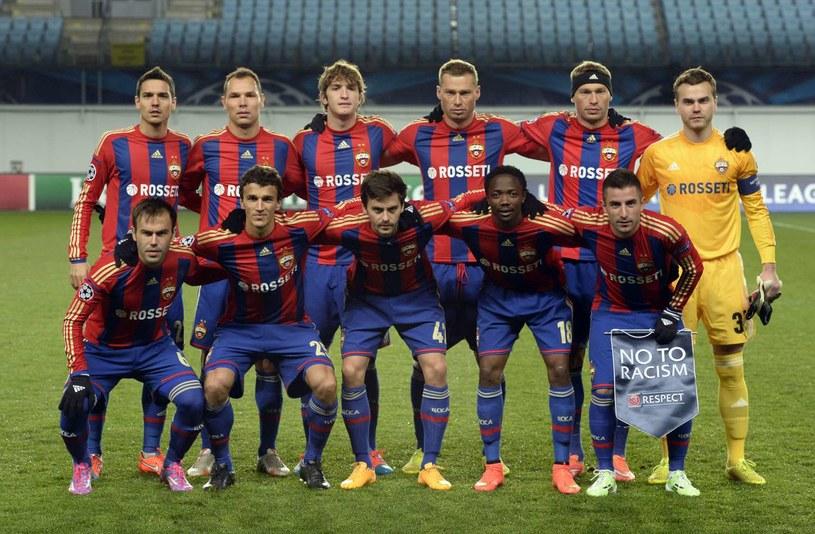 Piłkarze CSKA Moskwa /AFP