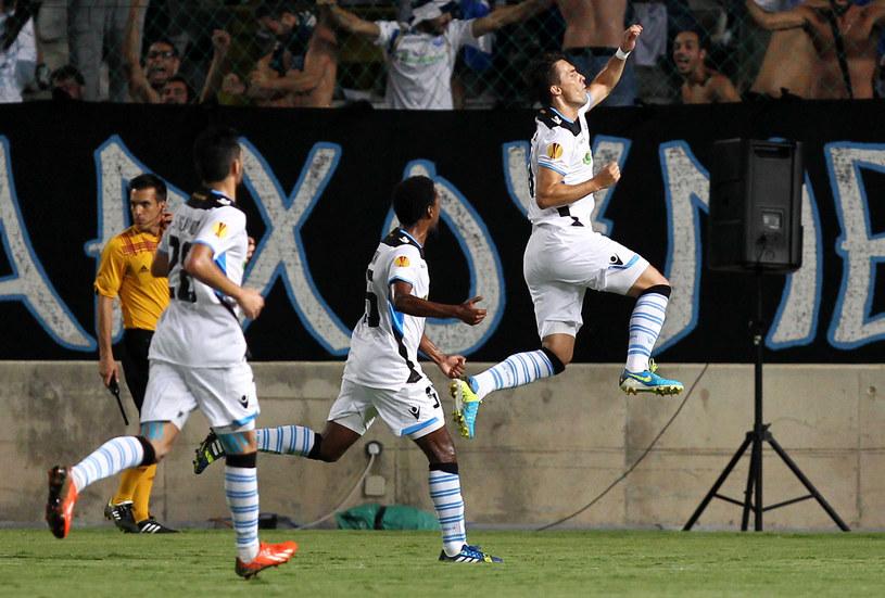 Piłkarze cypryjskiego Apollonu Limassol /AFP