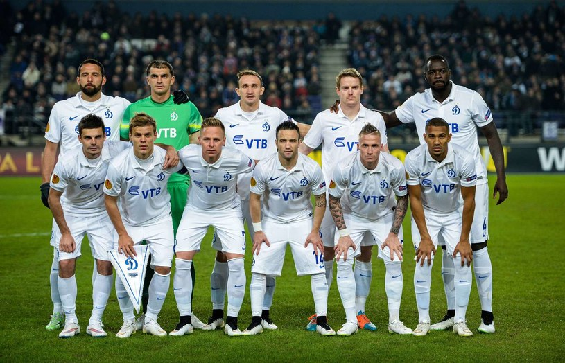 Piłkarze Dynama Moskwa /AFP