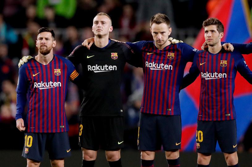 PIlkarze FC Barcelona /Getty Images