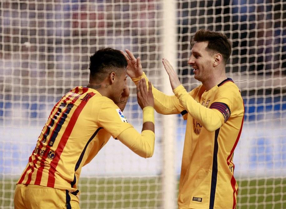 Piłkarze FC Barcelony /CABALAR  /PAP/EPA