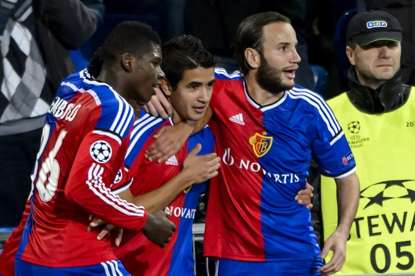 Piłkarze FC Basel /AFP