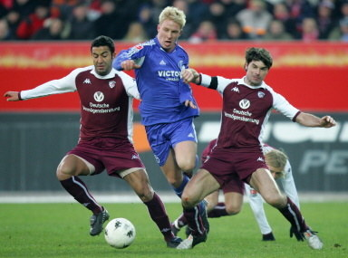 Piłkarze FC Kaiserslautern /AFP
