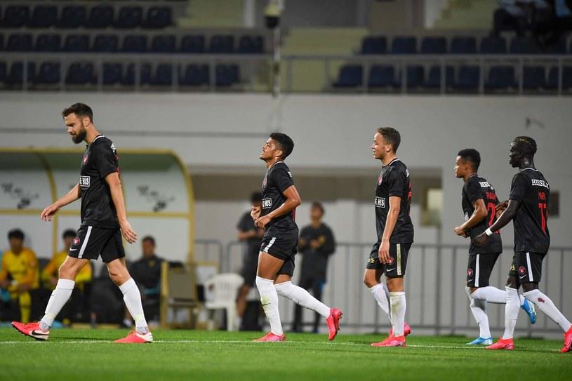 Piłkarze FC Midtjylland /AFP
