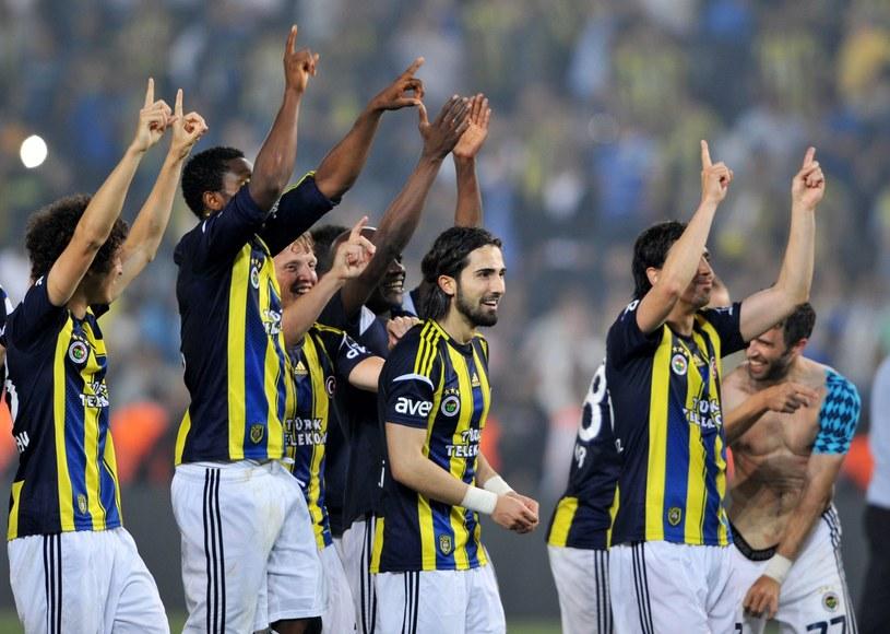 Piłkarze Fenerbahce Stambuł /AFP