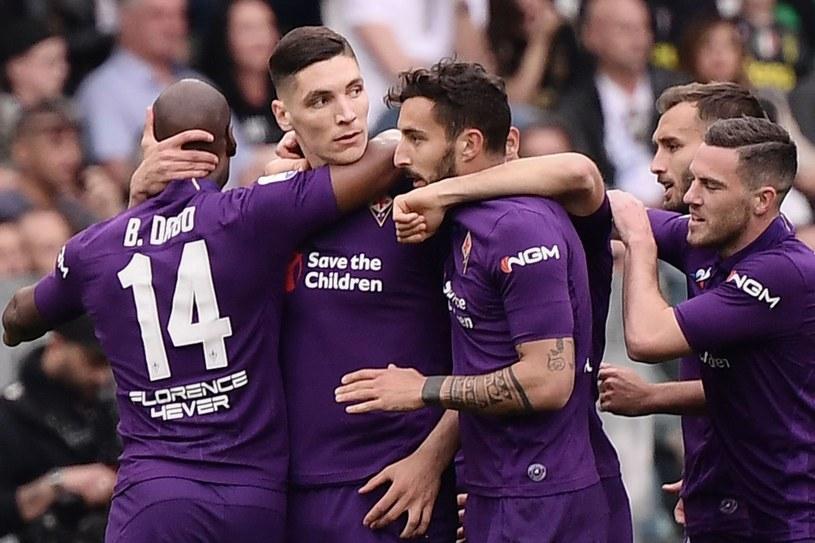 Piłkarze Fiorentiny /AFP