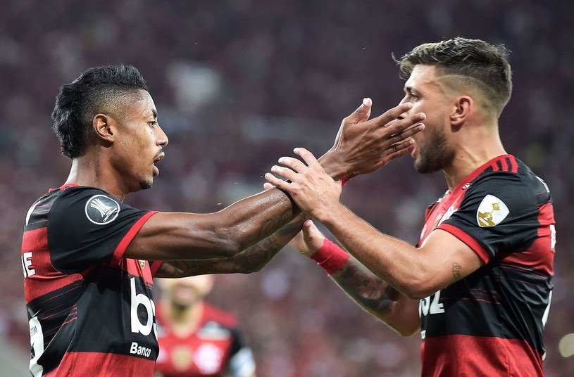 Piłkarze Flamengo Rio de Janeiro /AFP