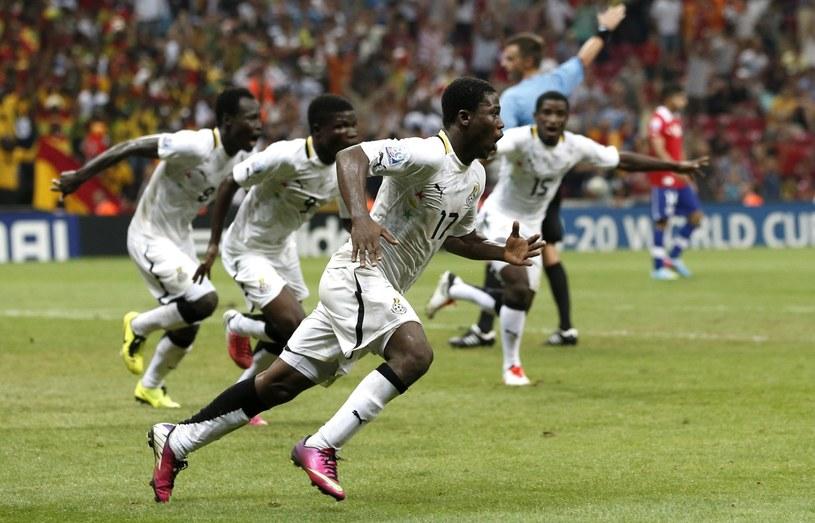 Piłkarze Ghany awansowali do półfinału MŚ do lat 20 /PAP/EPA