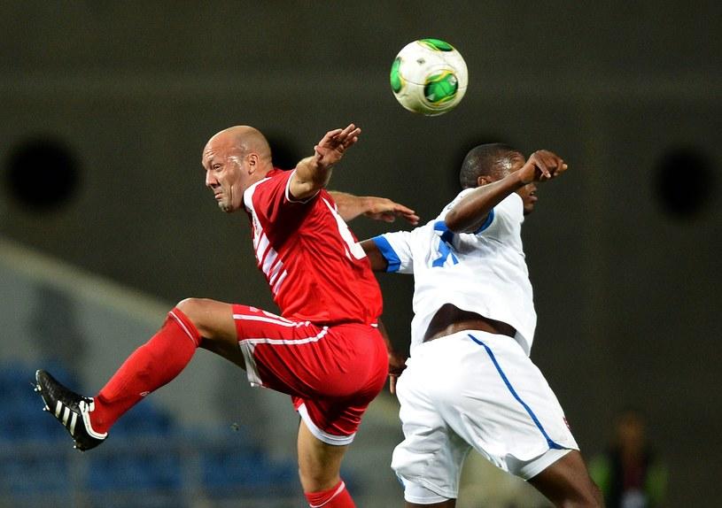 Piłkarze Gibraltaru wywalczyli cenny remis w debiucie /AFP