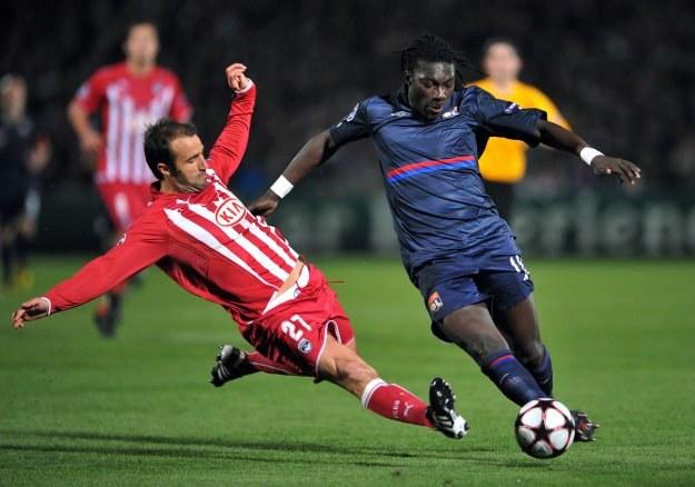 Piłkarze Girondins Bordeaux wygrali, ale w półfinale LM zagra Olympique Lyon /AFP