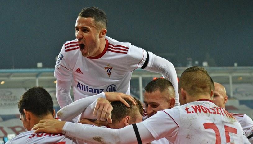 Piłkarze Górnika Zabrze /Daniel Bodzenta /East News