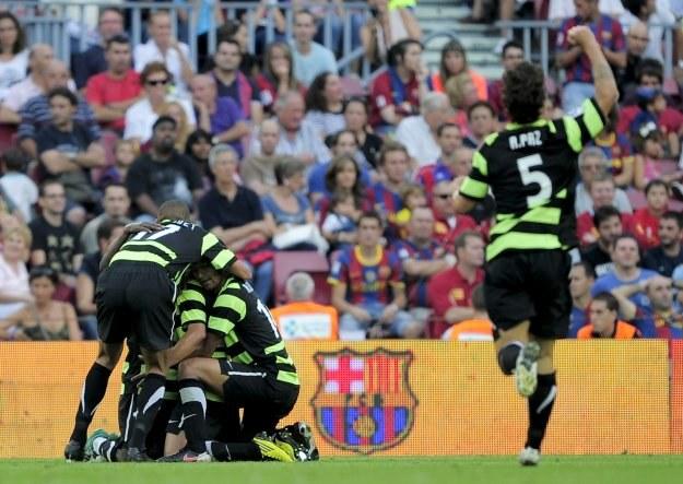 Piłkarze Herculesa Alicante zdobyli  Camp Nou /AFP