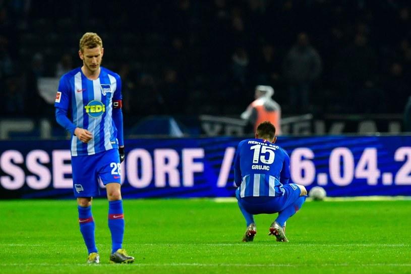 Piłkarze Herthy Berlin /AFP