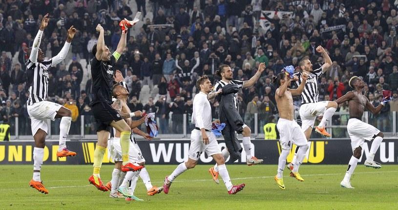 Piłkarze Juventusu marzą o triumfie w Lidze Europejskiej /AFP