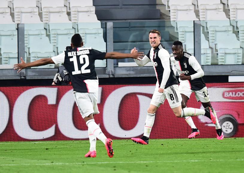 Piłkarze Juventusu /East News