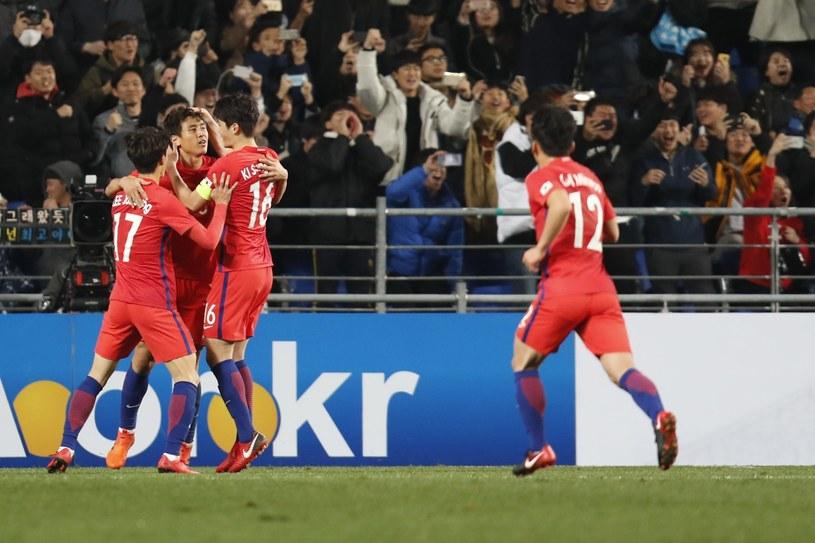Piłkarze Korei Południowej /PAP/EPA