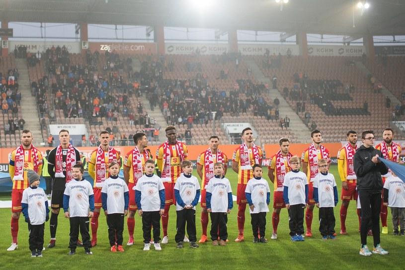 Piłkarze Korony Kielce /Piotr Dziurman /East News