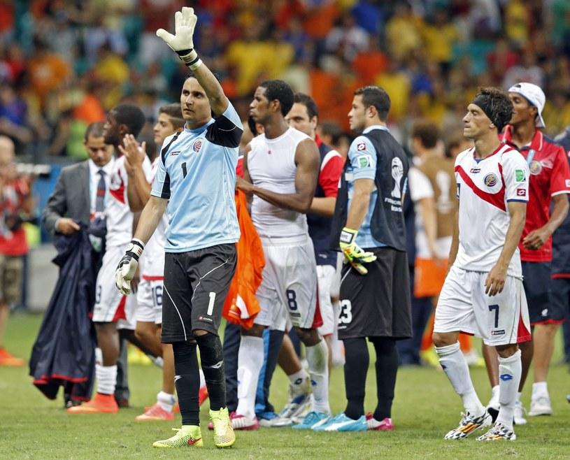 Piłkarze Kostaryki nie awansowali do półfinału MŚ 2014 /PAP/EPA