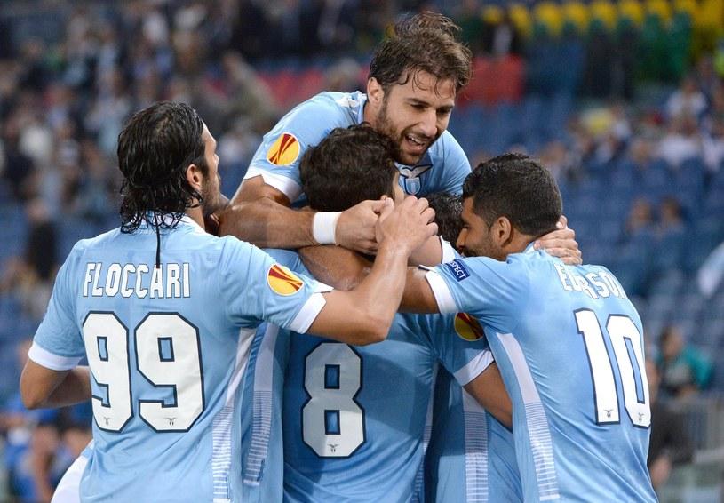Piłkarze Lazio pokonali Legię oszczędzając siły przed derbami Rzymu /PAP/EPA