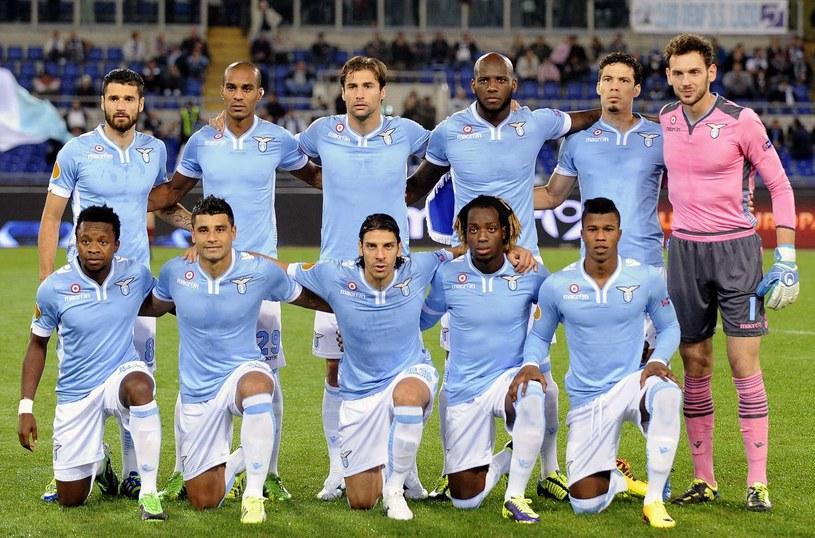 Piłkarze Lazio Rzym /AFP