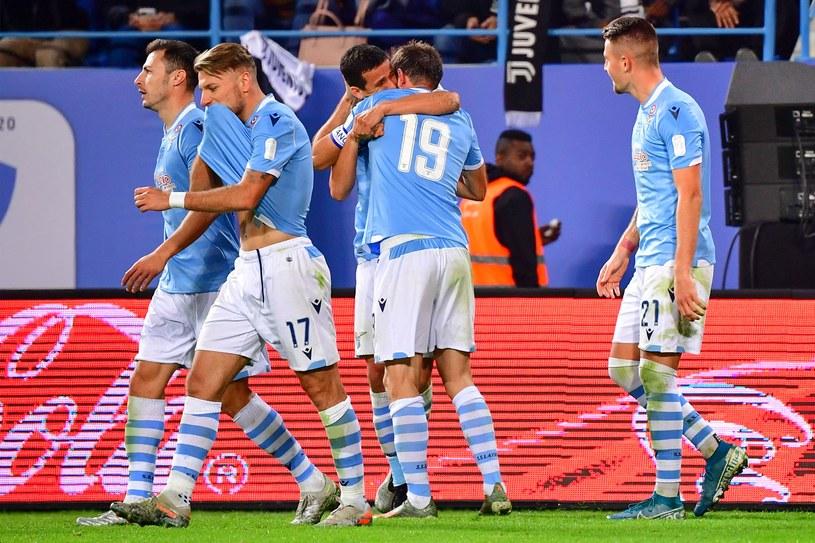 Piłkarze Lazio /AFP