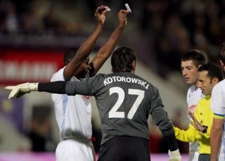 Piłkarze Lecha grają najczyściej. /AFP