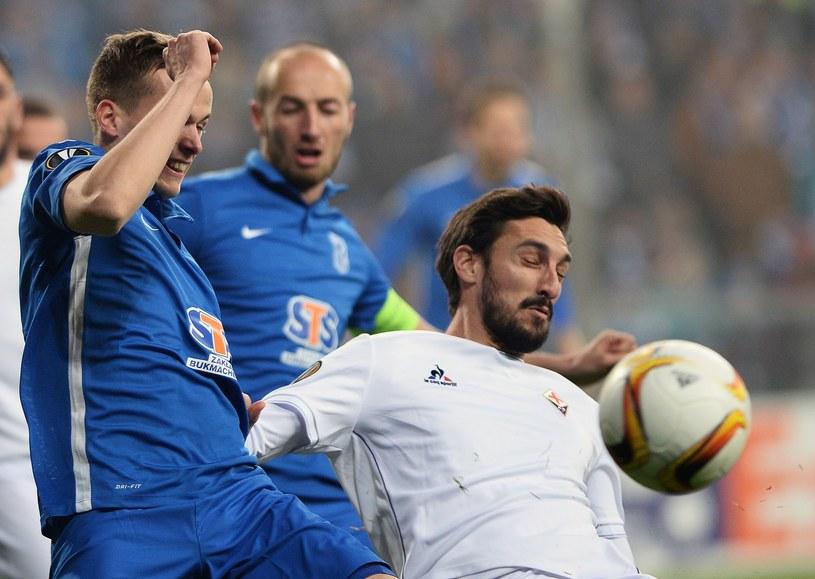 Piłkarze Lecha Poznań mają szansę awansu do 1/16 finału Ligi Europejskiej /AFP