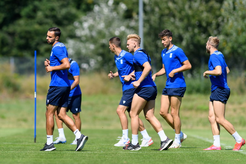 Piłkarze Lecha przygotowują się do sezonu / Jakub Kaczmarczyk    /PAP