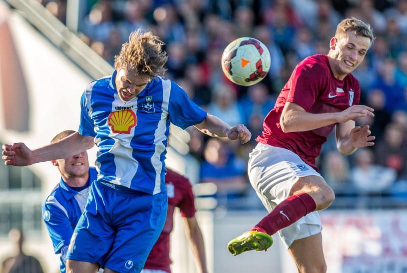 Piłkarze Lecha zaliczyli kolejną wpadkę w europejskich pucharach /fot. Adam Ciereszko /PAP