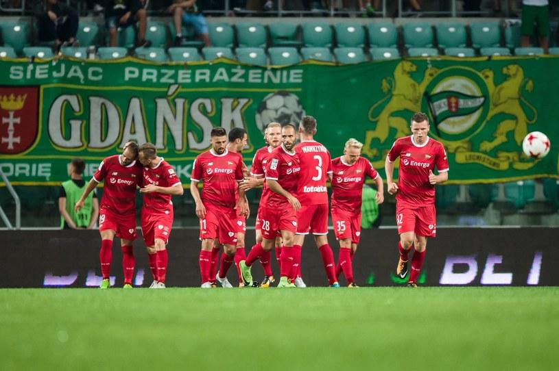 Piłkarze Lechii Gdańsk /Maciej Witkowski /Reporter