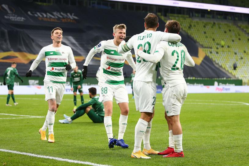 Piłkarze Lechii Gdańsk /Piotr Matusewicz /East News