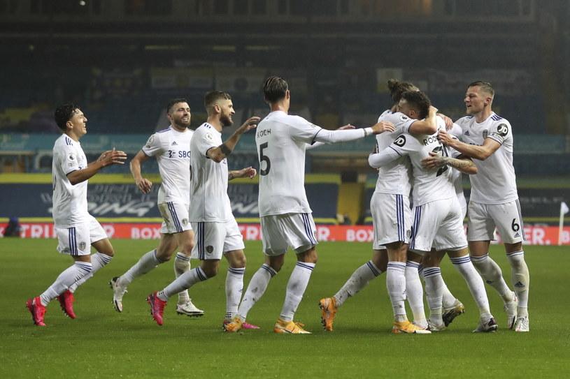Piłkarze Leeds mogą cieszyć się z remisu z Manchesterem City /PAP/EPA/Cath Ivill / POOL /PAP/EPA
