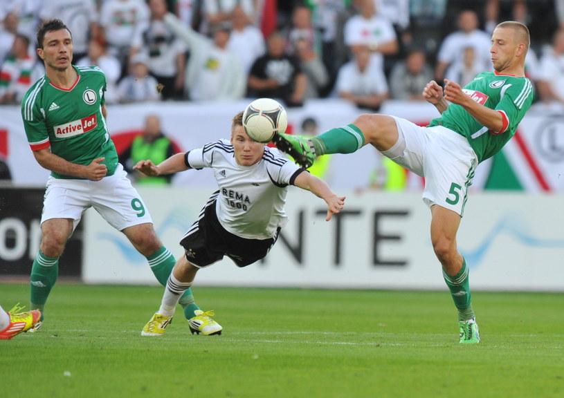 Piłkarze Legii odpadli z pucharów w dwumeczu z Rosenborgiem /AFP