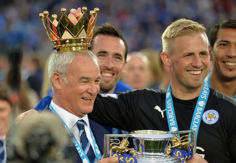 Piłkarze Leicester City po raz pierwszy w historii zdobyli mistrzostwo Anglii /PAP/EPA